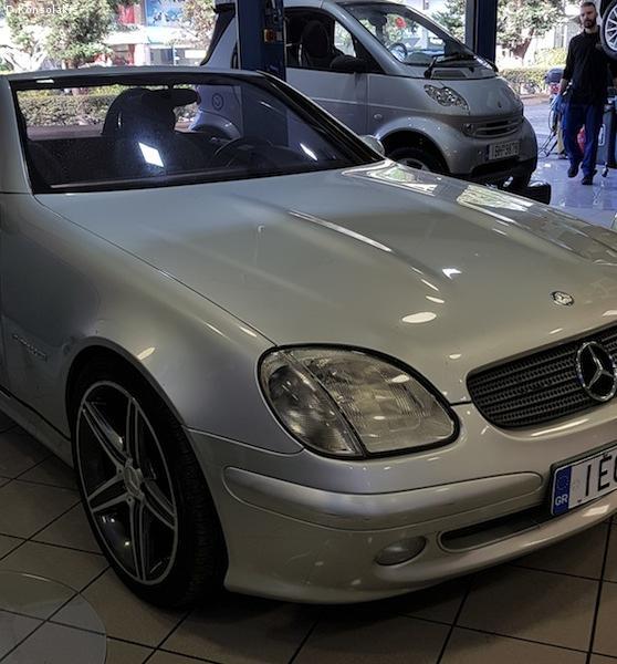 Mercedes Benz SLK 200 COMPRESSOR 2002