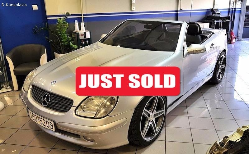 Mercedes Benz SLK 200 COMPRESSOR 2002