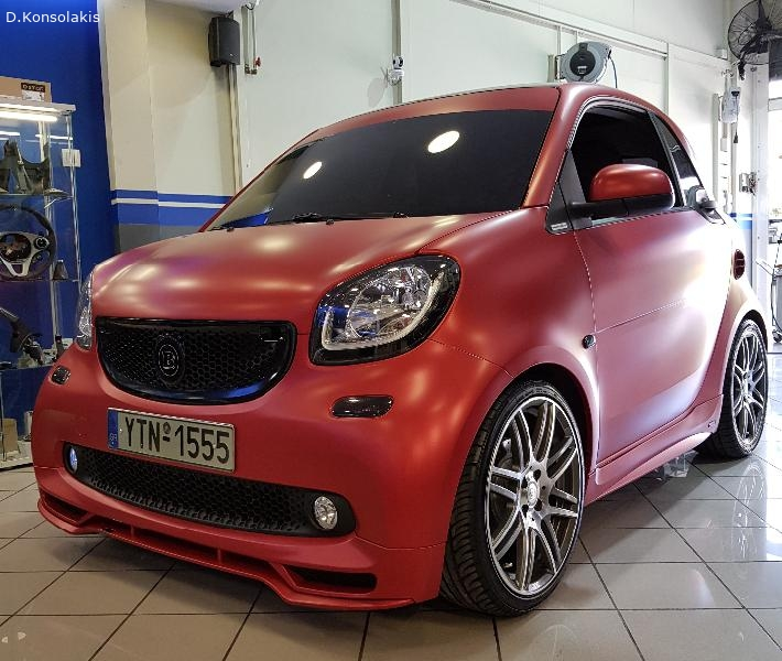 SMART BRABUS TAILOR MADE LINE