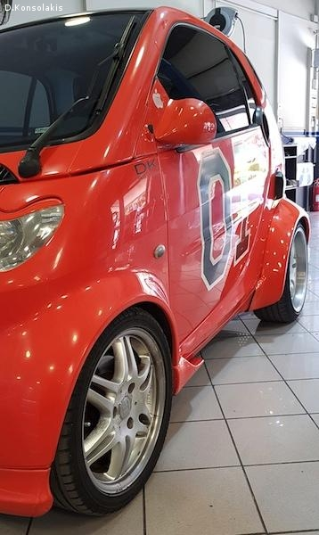 SMART FORTWO GENERAL LEE  2003 700CC