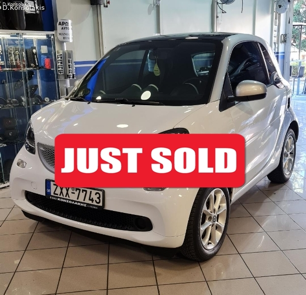 SMART FORTWO 453 AUTO 10/2015 FULL EXTRA
