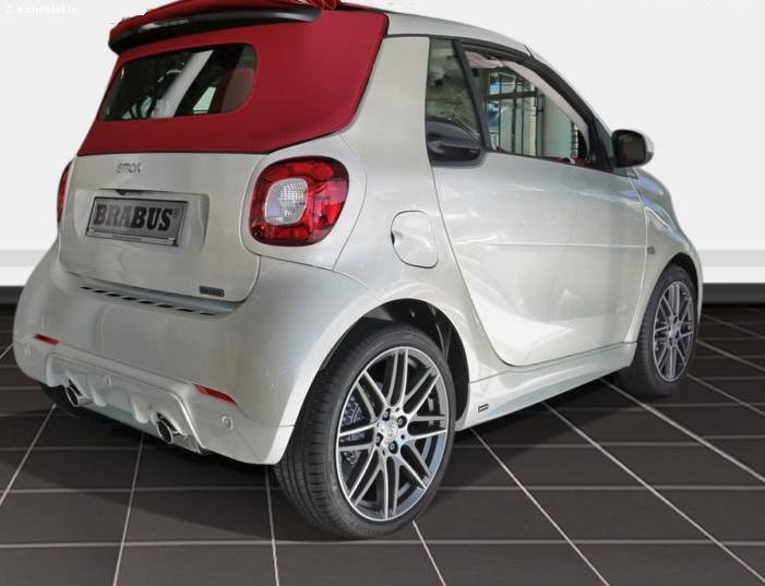 SMART FORTWO 453 BRABUS TAILOR MADE
