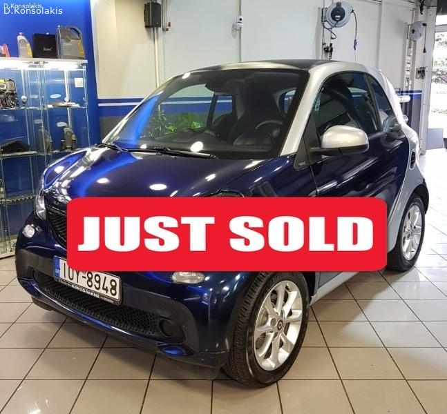 SMART FORTWO PASSION 2015 ΑΥΤΟΜΑΤΟ 71HP