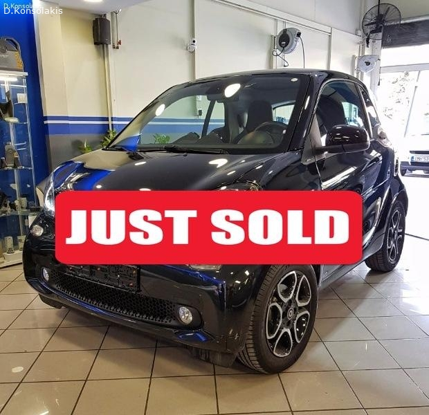 SMART FORTWO PRIME AYTOMATO 2015 90HP TURBO FULL EXTRA