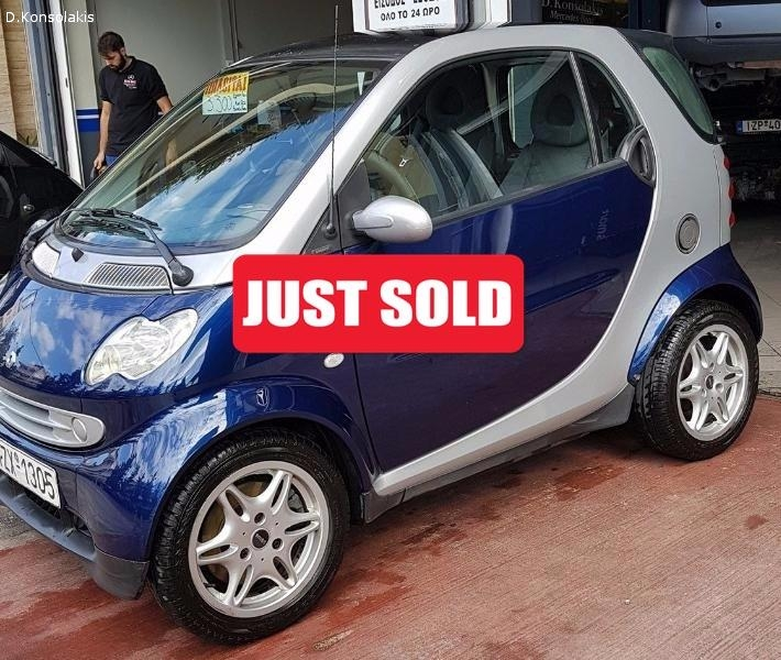 SMART FORTWO 600cc PASSION 2002