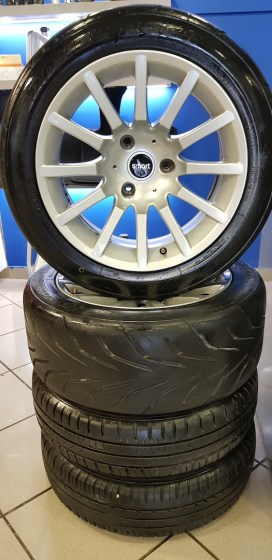 "D.Konsolakis mercedes benz smart ΖΑΝΤΟΛΑΣΤΙΧΑ 15"" ΓΝΗΣΙΑ SMART 450-451-452"