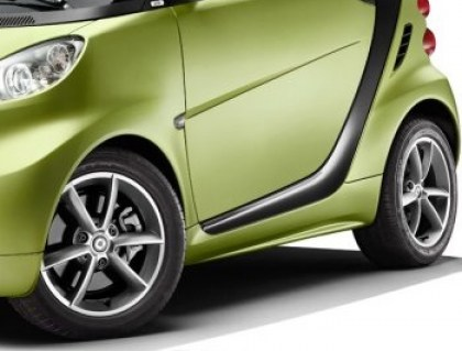 D.Konsolakis Mercedes-Benz & smart ΣΠΟΙΛΕΡ ΠΛΑΙΝΑ SMART FOR TWO 451 PULSE