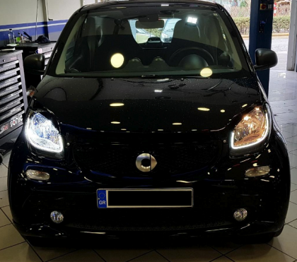 D.Konsolakis mercedes benz smart h4 led λαμπες