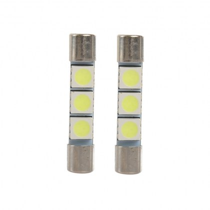 D.Konsolakis mercedes benz & smart White LED 31mm 5050 3SMD
