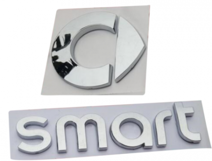 D.Konsolakis mercedes benz & smart CHROME EMBLEM-ΝΙΚΕΛ ΣΗΜΑ